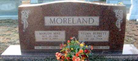 MORELAND, MARLON MIKE - Bienville County, Louisiana | MARLON MIKE MORELAND - Louisiana Gravestone Photos