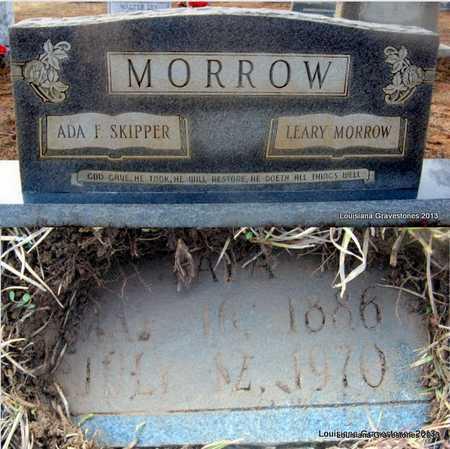 MORROW, ADA F - Bienville County, Louisiana | ADA F MORROW - Louisiana Gravestone Photos