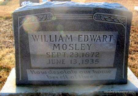 MOSLEY, WILLIAM EDWART - Bienville County, Louisiana | WILLIAM EDWART MOSLEY - Louisiana Gravestone Photos