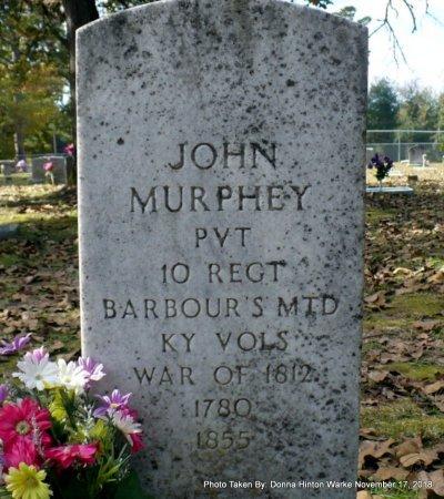 MURPHEY  , JOHN (VETERAN WAR OF 1812) - Bienville County, Louisiana | JOHN (VETERAN WAR OF 1812) MURPHEY   - Louisiana Gravestone Photos