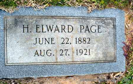 PAGE, HENRY ELWARD - Bienville County, Louisiana | HENRY ELWARD PAGE - Louisiana Gravestone Photos