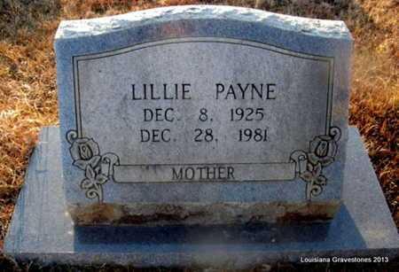 PAYNE, LILLIE - Bienville County, Louisiana   LILLIE PAYNE - Louisiana Gravestone Photos