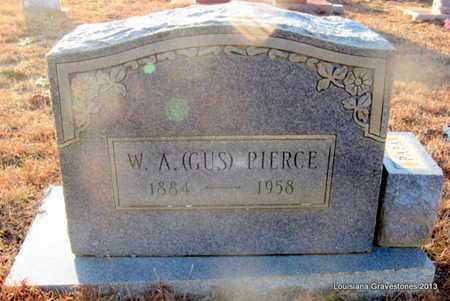 PIERCE, W A (GUS) - Bienville County, Louisiana | W A (GUS) PIERCE - Louisiana Gravestone Photos