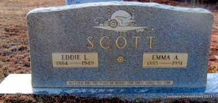 SCOTT, EDDIE LAWRENCE - Bienville County, Louisiana | EDDIE LAWRENCE SCOTT - Louisiana Gravestone Photos