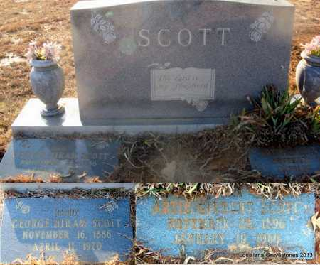 SCOTT, GEORGE HIRAM - Bienville County, Louisiana | GEORGE HIRAM SCOTT - Louisiana Gravestone Photos