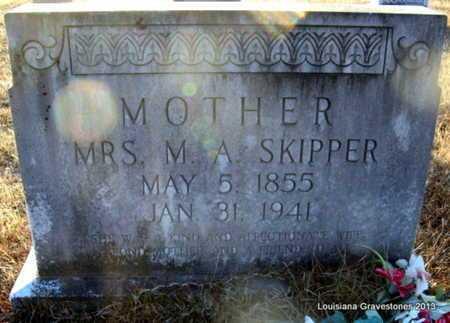 LUCAS SKIPPER, MARTHA ANN - Bienville County, Louisiana   MARTHA ANN LUCAS SKIPPER - Louisiana Gravestone Photos