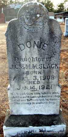 SLACK, DONIE - Bienville County, Louisiana | DONIE SLACK - Louisiana Gravestone Photos