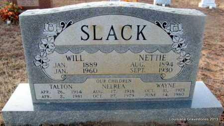 SLACK, NETTIE - Bienville County, Louisiana | NETTIE SLACK - Louisiana Gravestone Photos