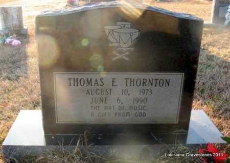 THORNTON, THOMAS E - Bienville County, Louisiana   THOMAS E THORNTON - Louisiana Gravestone Photos