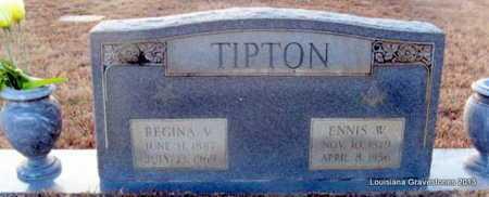 TIPTON, REGINA VICTORIA - Bienville County, Louisiana | REGINA VICTORIA TIPTON - Louisiana Gravestone Photos