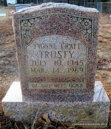 TRUSTY, YVONNE - Bienville County, Louisiana | YVONNE TRUSTY - Louisiana Gravestone Photos