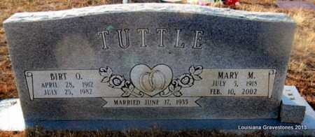 TUTTLE, BIRT O - Bienville County, Louisiana | BIRT O TUTTLE - Louisiana Gravestone Photos