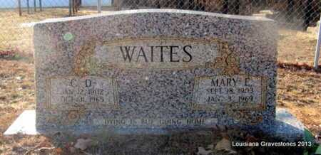 WAITES, C D - Bienville County, Louisiana | C D WAITES - Louisiana Gravestone Photos