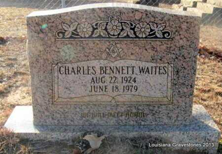 WAITES, CHARLES BENNETT - Bienville County, Louisiana | CHARLES BENNETT WAITES - Louisiana Gravestone Photos