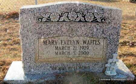 WAITES, MARY EVELYN - Bienville County, Louisiana | MARY EVELYN WAITES - Louisiana Gravestone Photos