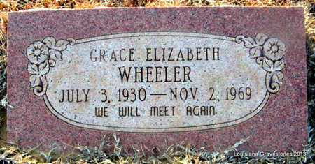 WHEELER, GRACE ELIZABETH - Bienville County, Louisiana | GRACE ELIZABETH WHEELER - Louisiana Gravestone Photos