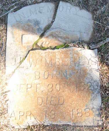 WIMBERLY, J L - Bienville County, Louisiana | J L WIMBERLY - Louisiana Gravestone Photos