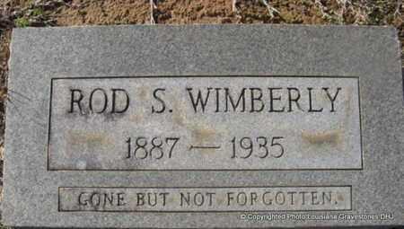 WIMBERLY, ROD S - Bienville County, Louisiana | ROD S WIMBERLY - Louisiana Gravestone Photos