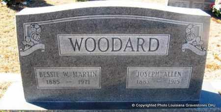 MARTIN WOODARD, BESSIE W - Bienville County, Louisiana | BESSIE W MARTIN WOODARD - Louisiana Gravestone Photos