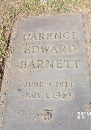 BARNETT, CARENCE EDWARD - Bossier County, Louisiana | CARENCE EDWARD BARNETT - Louisiana Gravestone Photos