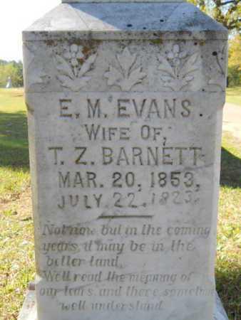 BARNETT, E M (CLOSE UP) - Bossier County, Louisiana | E M (CLOSE UP) BARNETT - Louisiana Gravestone Photos