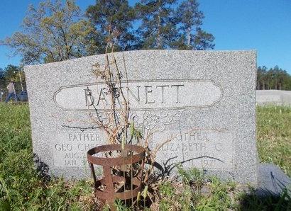 BARNETT, ELIZABETH - Bossier County, Louisiana | ELIZABETH BARNETT - Louisiana Gravestone Photos