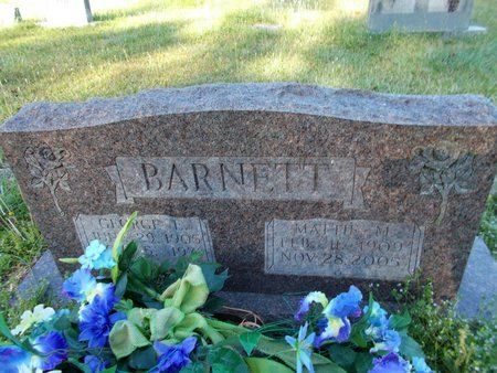 BARNETT, MATTIE MAY - Bossier County, Louisiana | MATTIE MAY BARNETT - Louisiana Gravestone Photos