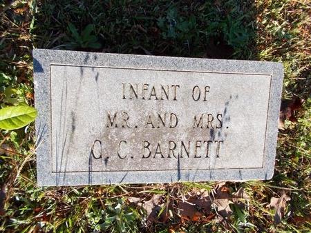 BARNETT, INFANT - Bossier County, Louisiana   INFANT BARNETT - Louisiana Gravestone Photos