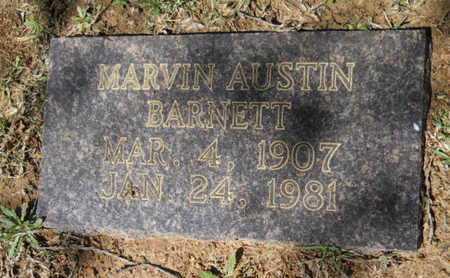 BARNETT, MARVIN AUSTIN - Bossier County, Louisiana | MARVIN AUSTIN BARNETT - Louisiana Gravestone Photos