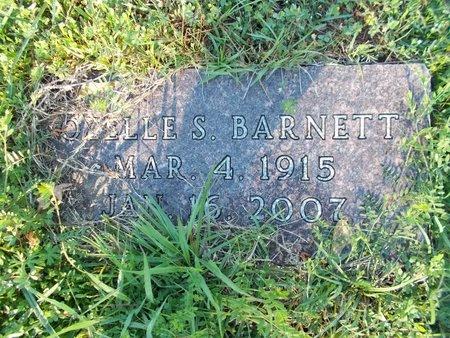 BARNETT, OZELLE S - Bossier County, Louisiana   OZELLE S BARNETT - Louisiana Gravestone Photos