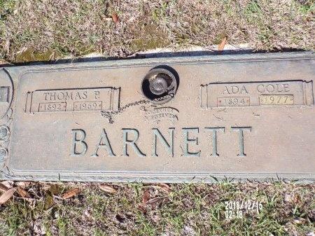 BARNETT, THOMAS P - Bossier County, Louisiana | THOMAS P BARNETT - Louisiana Gravestone Photos