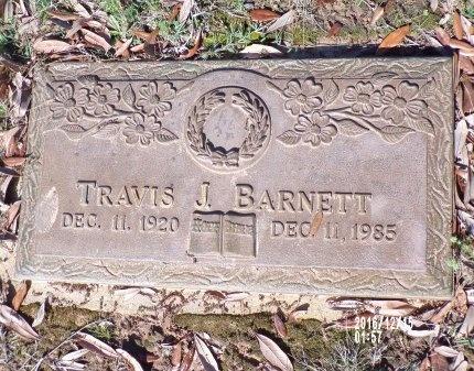 BARNETT, TRAVIS J - Bossier County, Louisiana   TRAVIS J BARNETT - Louisiana Gravestone Photos