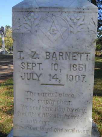 BARNETT, T Z (CLOSE UP) - Bossier County, Louisiana | T Z (CLOSE UP) BARNETT - Louisiana Gravestone Photos