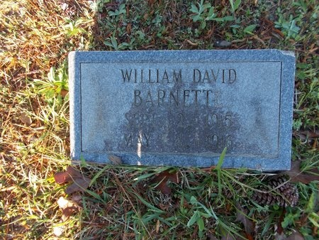 BARNETT, WILLIAM DAVID - Bossier County, Louisiana | WILLIAM DAVID BARNETT - Louisiana Gravestone Photos