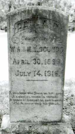 BOUNDS, DELLA D - Bossier County, Louisiana | DELLA D BOUNDS - Louisiana Gravestone Photos
