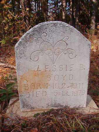 BOYD, LESSIE B - Bossier County, Louisiana | LESSIE B BOYD - Louisiana Gravestone Photos