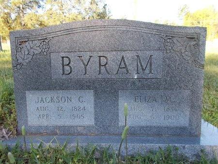 BYRAM, JACKSON CLARK - Bossier County, Louisiana   JACKSON CLARK BYRAM - Louisiana Gravestone Photos