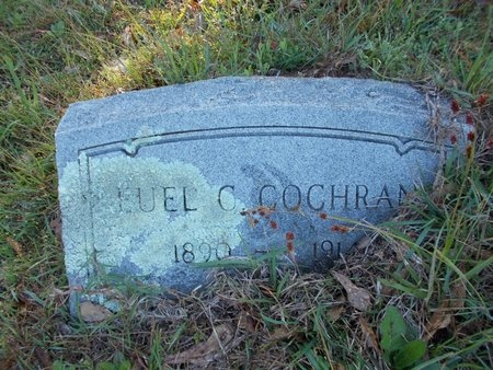 COCHRAN, EUEL C - Bossier County, Louisiana | EUEL C COCHRAN - Louisiana Gravestone Photos