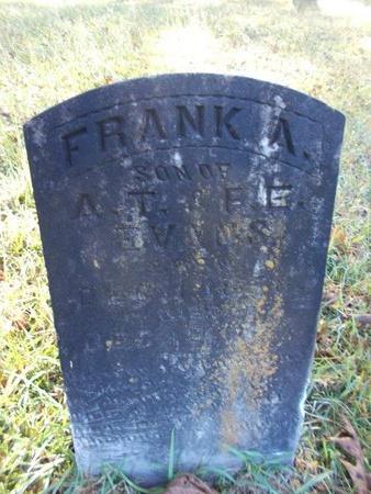 EVANS, FRANK A - Bossier County, Louisiana | FRANK A EVANS - Louisiana Gravestone Photos