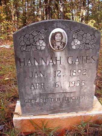 GATES, HANNAH - Bossier County, Louisiana | HANNAH GATES - Louisiana Gravestone Photos