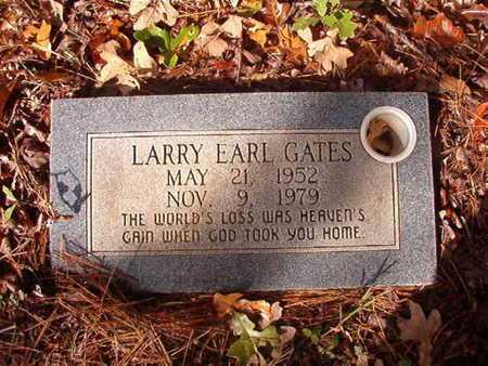 GATES, LARRY EARL - Bossier County, Louisiana | LARRY EARL GATES - Louisiana Gravestone Photos
