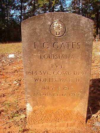 GATES, L C (VETERAN WWII) - Bossier County, Louisiana | L C (VETERAN WWII) GATES - Louisiana Gravestone Photos