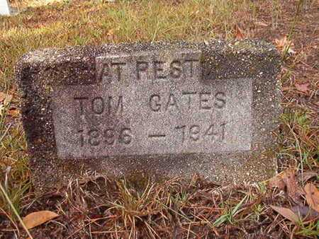 GATES, TOM - Bossier County, Louisiana | TOM GATES - Louisiana Gravestone Photos