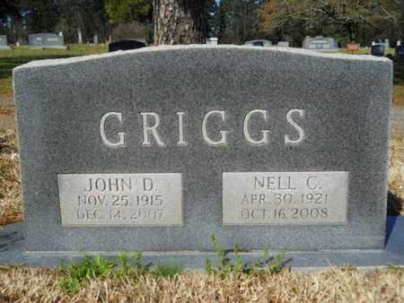GRIGGS, NELL C - Bossier County, Louisiana | NELL C GRIGGS - Louisiana Gravestone Photos