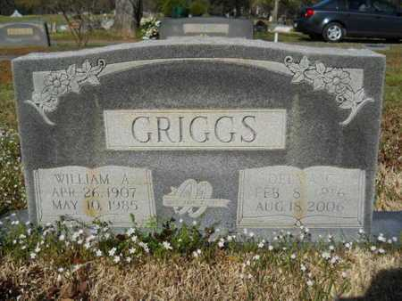 GRIGGS, WILLIAM A - Bossier County, Louisiana | WILLIAM A GRIGGS - Louisiana Gravestone Photos