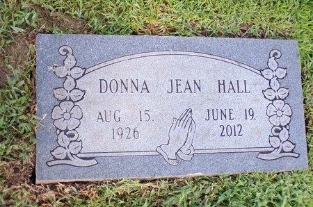 HALL, DONNA JEAN - Bossier County, Louisiana | DONNA JEAN HALL - Louisiana Gravestone Photos