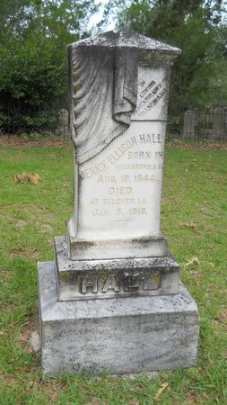 "HALL, JANE ADGER ""JENNIE"" - Bossier County, Louisiana | JANE ADGER ""JENNIE"" HALL - Louisiana Gravestone Photos"