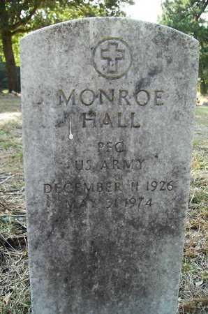 HALL, MONROE (VETERAN) - Bossier County, Louisiana | MONROE (VETERAN) HALL - Louisiana Gravestone Photos