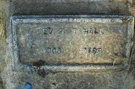 HALL, J T, REV - Bossier County, Louisiana | J T, REV HALL - Louisiana Gravestone Photos