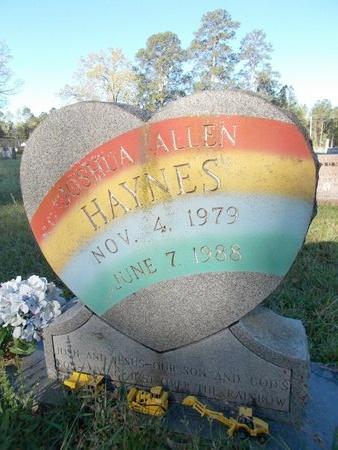 HAYNES, JOSHUA ALLEN - Bossier County, Louisiana | JOSHUA ALLEN HAYNES - Louisiana Gravestone Photos
